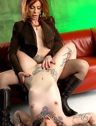Horny Sparky riding Jasmine's huge hard cock