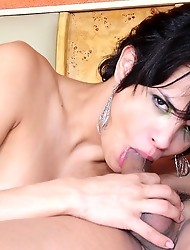 Tranny pounded hard and fast!