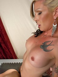 Pushups, ass fucking, CBT w/heavy rocks, blow jobs, a huge load from the famous cock of Morgan Bailey- who wants to be America's Next Top Bottom
