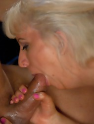 Huge Ts cock pounding away at nice tight pussy - Honey Foxxx reams Cherry Torn until both girls have cum. Honey dumps her load on Cherry's back.
