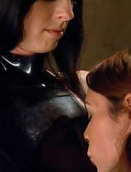 A rare & special BDSM update with two models who have great chemistry & know each others limits. Ass fisting, multiple Os, deep-throating &amp