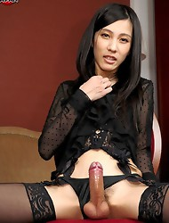 The always beautiful Chuling returns to Shemale Japan today to fulfill your every desire.
