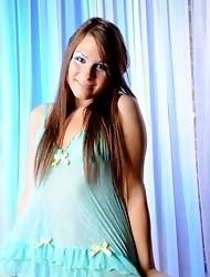 Beautiful TS goddess Ashley George posing