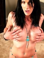 Sweet Hottie Morgan Bailey Posing Her Hot Body