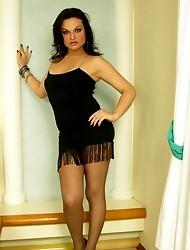 Natasha salacious pantyhose shemale gal