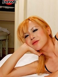 25 year old Japanese shemale Sakura is our bad ass on Shemale Japan. She\'s fiesty and a total bad girl, ready to turn any guy into puddy in her