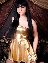 Beautiful Bailey Jay posing as an Arabian transsexual